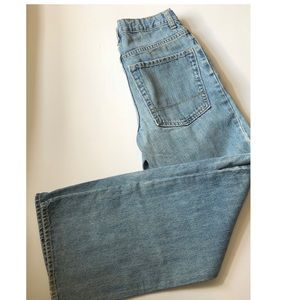 Boy's Old Navy size 16 Bootcut Light wash jeans